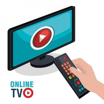 Transmissão ao vivo da tv