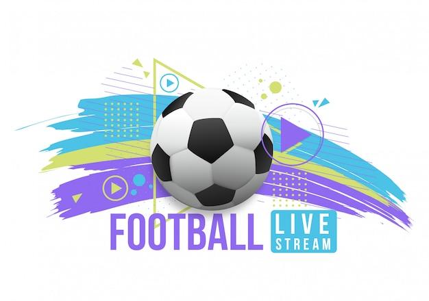 Transmissão ao vivo de futebol