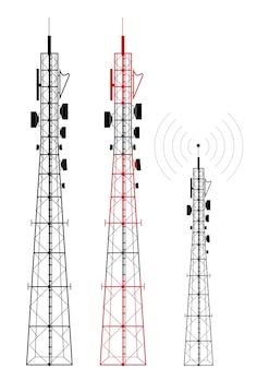 Transmissor de sinal de rede de telefonia celular