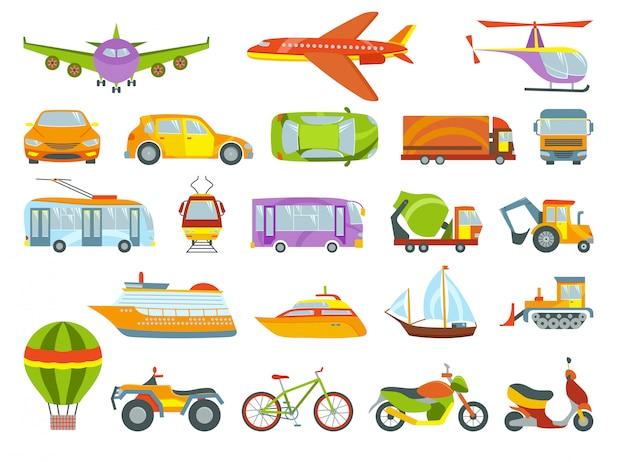 Transporte colorido