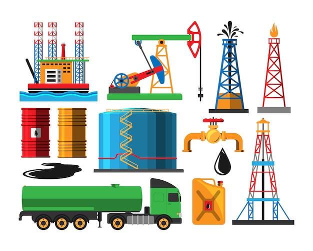 Transporte de extração de petróleo