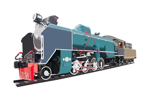 Transporte de locomotiva a vapor
