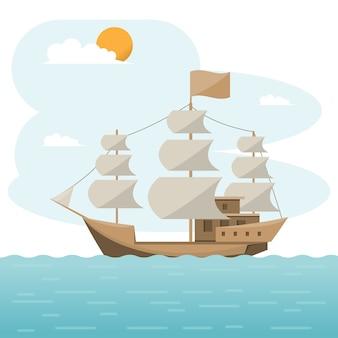 Transporte marítimo logístico