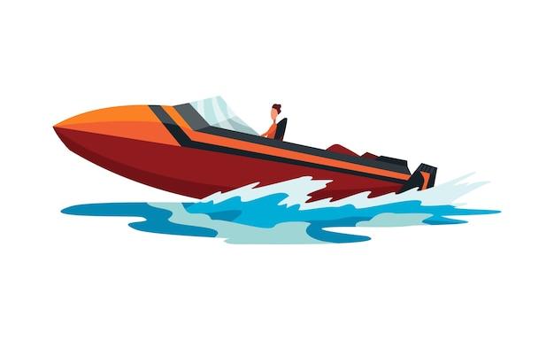 Transporte náutico esportivo de verão