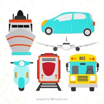 Transportes públicos coleção