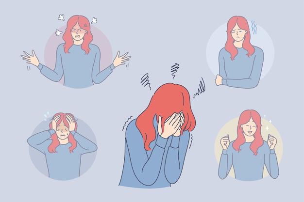 Transtorno bipolar, problema ficológico, conceito de esquizofrenia.