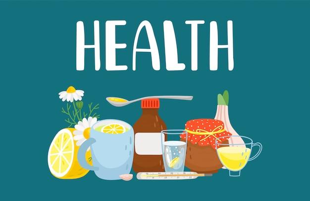 Tratamento alternativo, remédios para resfriado