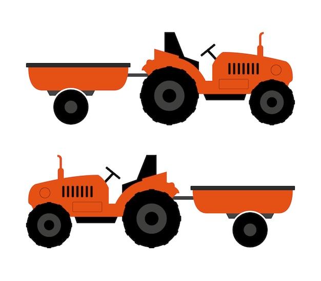 Trator com carrinho