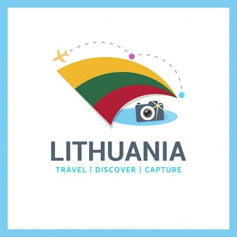 Travel logo lituânia