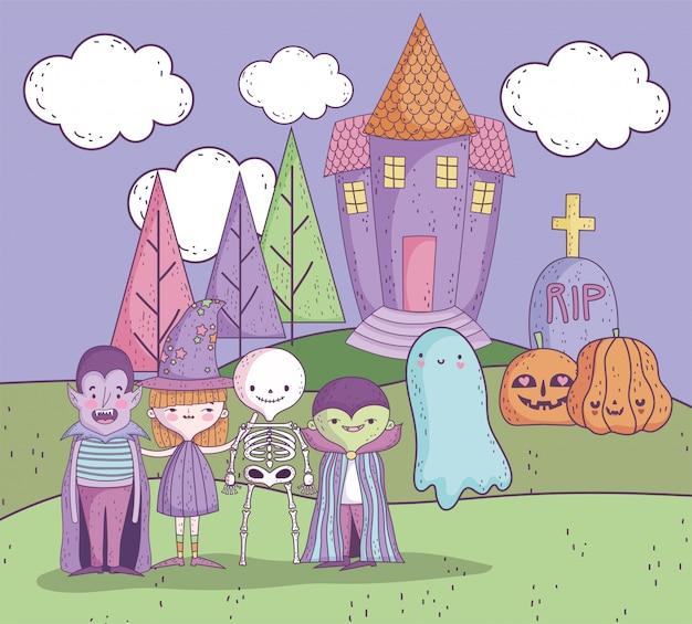 Travessuras ou gostosuras feliz dia das bruxas
