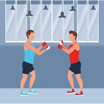 Treinamento de pessoas de fitness