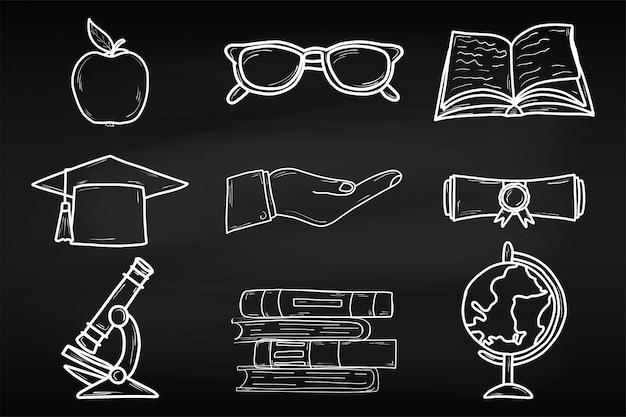 Treinamento. dia mundial do livro. abril. conhecimento. leitura. mundo. para o seu design. folha. placa de giz. escola.