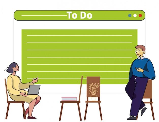 Treinamento em gerenciamento de tempo e organização de negócios