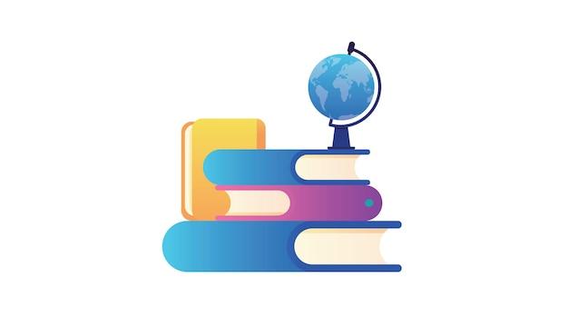 Treinamento em qualquer lugar no banner da web mundial. o conceito de aprender sem sair da cama.