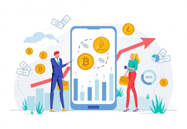 Treinamento on-line de negócios em operações do exchange.
