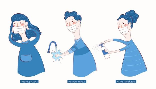 Três maneiras de lutar contra o vírus