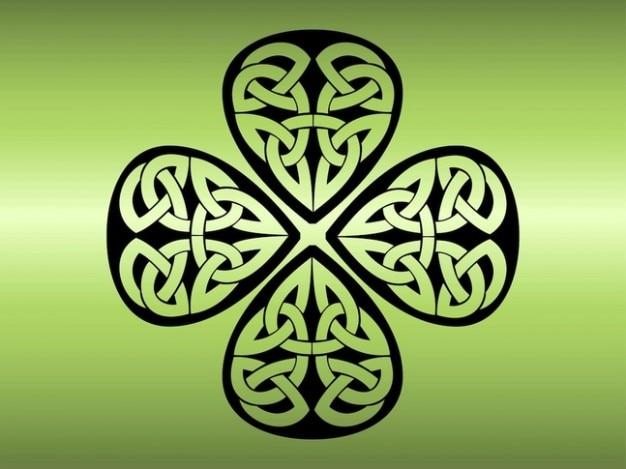 Trevo de quatro folhas capa tatuagem