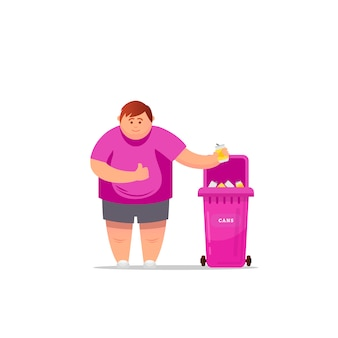 Triagem de lixo