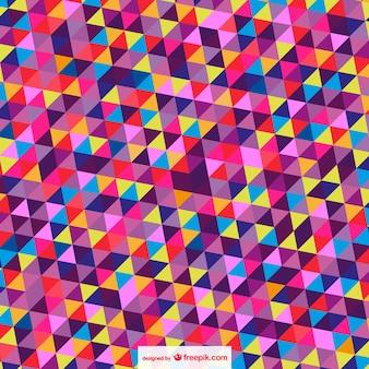 Trianges abstratas vetor wallpaper