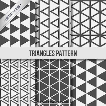 Triangle coleção padrões