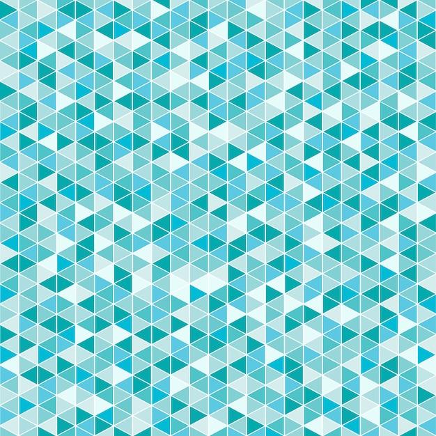 Triângulo azul abstrato