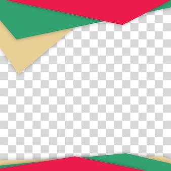 Triângulo de fundo abstrato