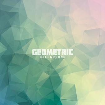 Triângulo geométrico, fundo colorido colorido do vetor