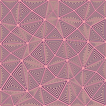 Triângulo listrado, mosaico, fundo