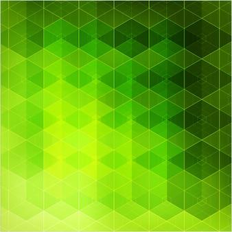 Triângulos de fundo geométrico abstrato