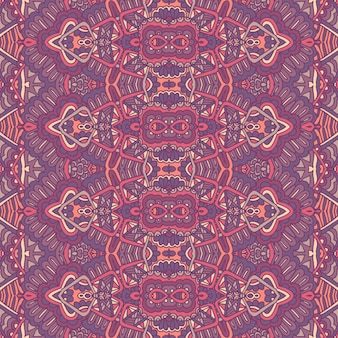 Tribal vintage abstrato geométrico étnico sem costura padrão ornamental