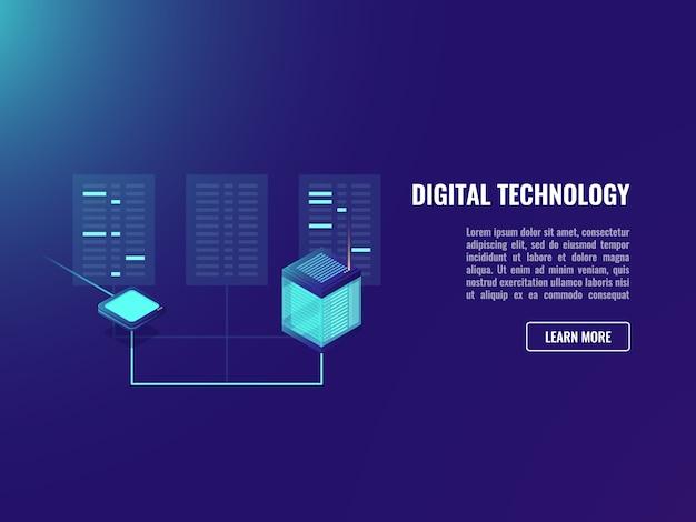 Troca de arquivos, aplicativo do servidor do cliente, sala do servidor da web, codificação de dados