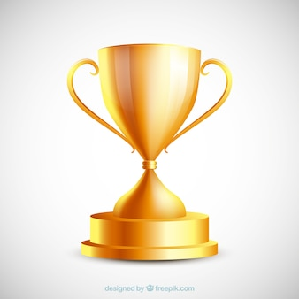 Troféu dourado
