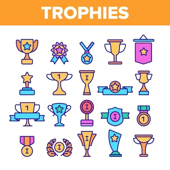 Troféus e medalhas