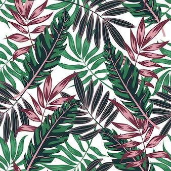 Tropical padrão sem emenda