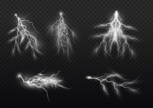 Trovoada e relâmpago, o efeito do relâmpago, iluminação, luz e brilho, zíperes