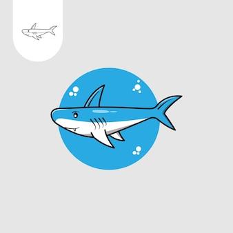 Tubarão fofo