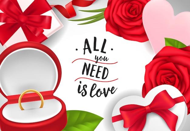 Tudo o que você precisa é letras de amor