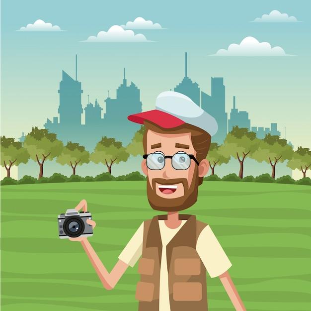 Turismo masculino no parque