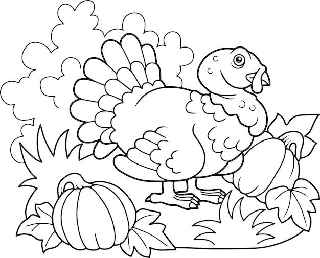 Turquia dos desenhos animados