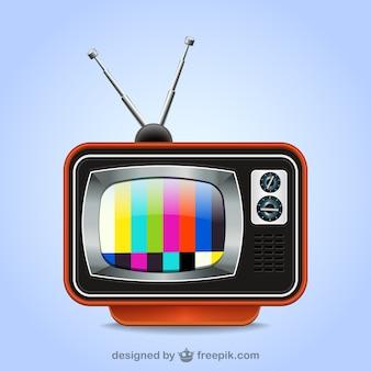 Tv retro ilustração