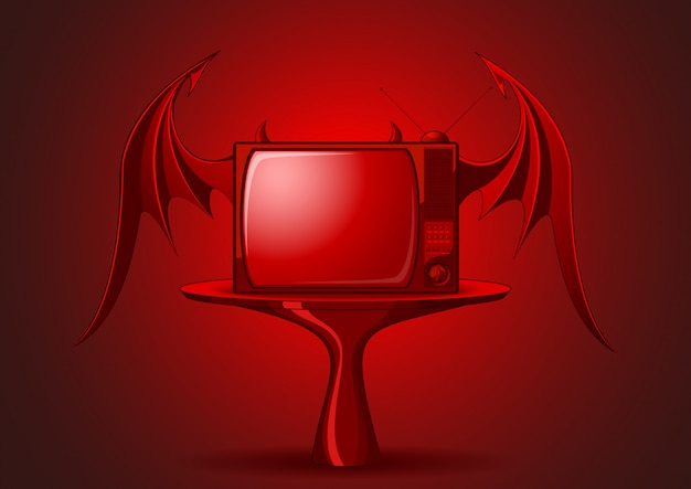 Tv retro mal