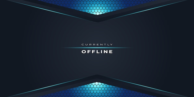 Twitch fundo atualmente offline