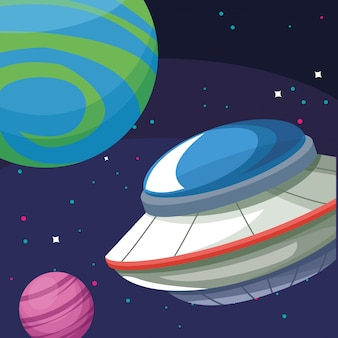 Ufo planetas descoberta cosmos astronomia exploração espacial