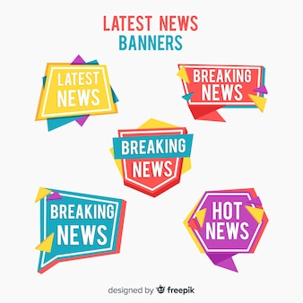 Últimas notícias banner collection