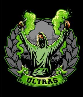 Ultras hooligan