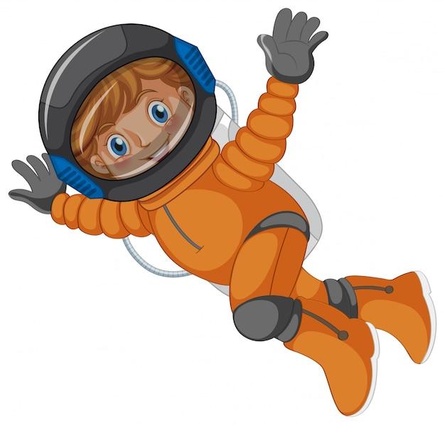 Um astronauta