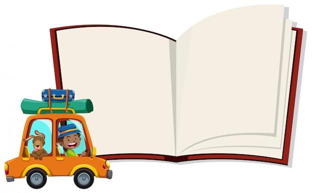 Um caderno e um turista