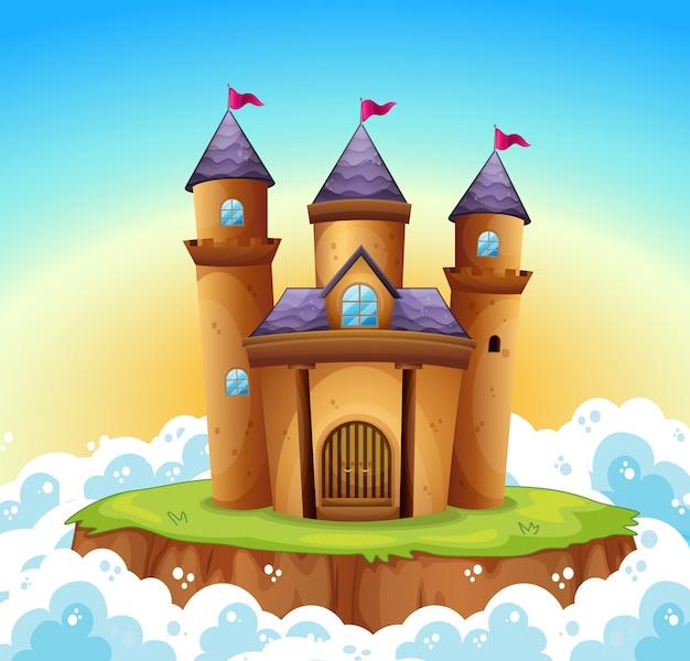 Um castelo de conto de fadas