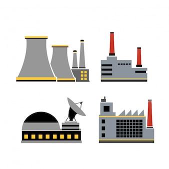 Um conjunto de design industrial