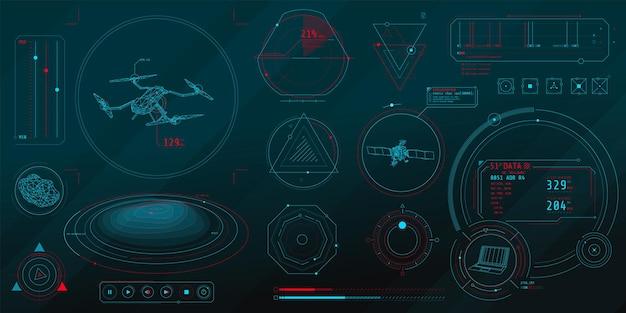 Um conjunto de elementos finos no tópico de controle de drones